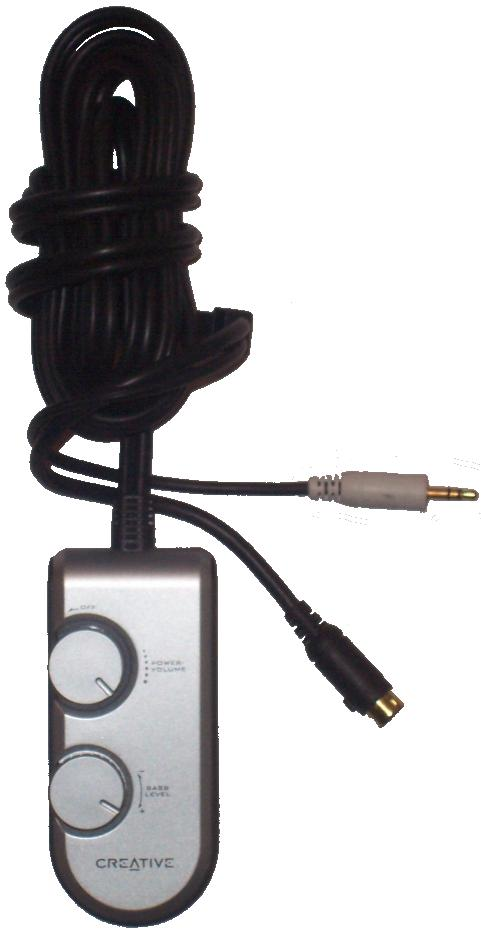Creative WIRE REMOTE FOR I-trigue 3300 Speakers SUBWOOFER SYSTEM