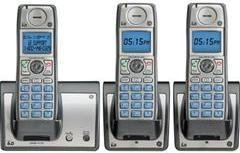 GE TC28213EE3 Wireless HANDSET THREE CORDLESS Home Phone SYSTEM