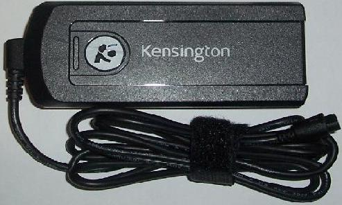 KENSINGTON K33403 AC POWER ADAPTER 16v to 19Vdc -(+) 90W WITH US