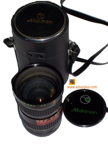 Makinon MC 28-80mm 1:3.5 AUTO LENS FOR Minolta CAMERA