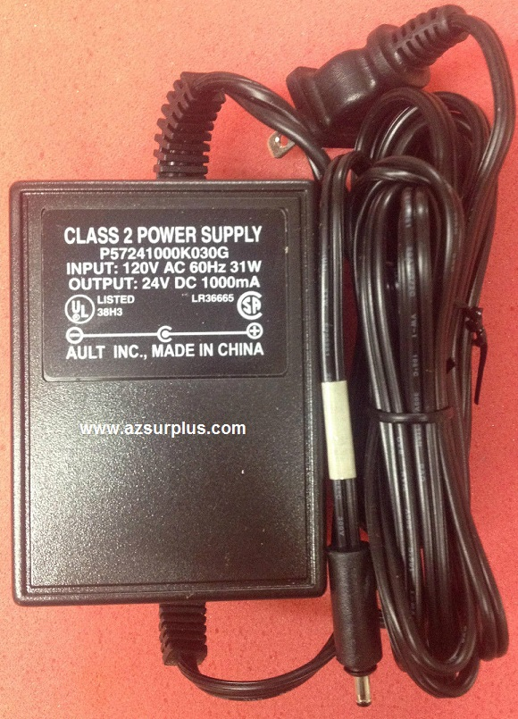 DISH NETWORKAult P57241000K030G AC ADAPTER 24Vdc 1A -(+) 1x3.5mm