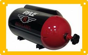 "PYLE PLTB-8P 8"" Red Label Series Passive Subwoofer Tube Nitrous"