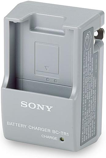 SONY BC-TR1 InfoLithium T-Series Portable Battery Charger - BCTR