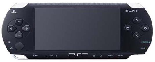 SONY PLAY STATION PORTABLE PSP 1001 Game Console System - Click Image to Close